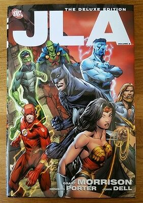 JLA The Deluxe Edition Volume 2 by Grant Morrison Hardback HC Hardcover DC new