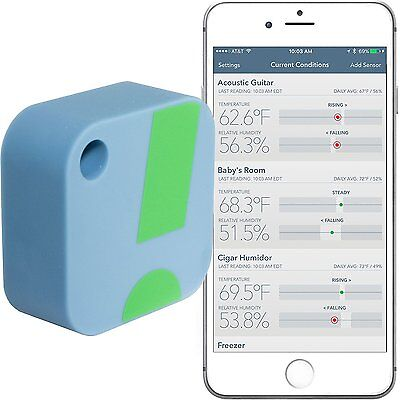 SensorPush Wireless Thermometer Hygrometer For IPhone Android Humidity New