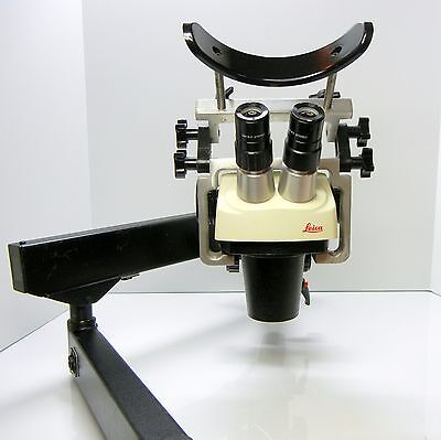 LEICA SZ-4 Microscope For Stone Setter Jeweler Engraver Articulating STAND #392