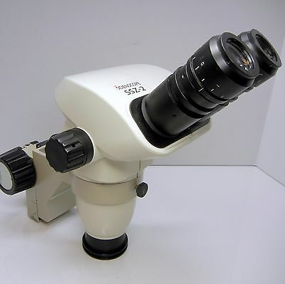 SSZ-2 Stereo Microscope 0.5X Lens 177mm WD Focus Holder Pin Mount EXCELLENT #341