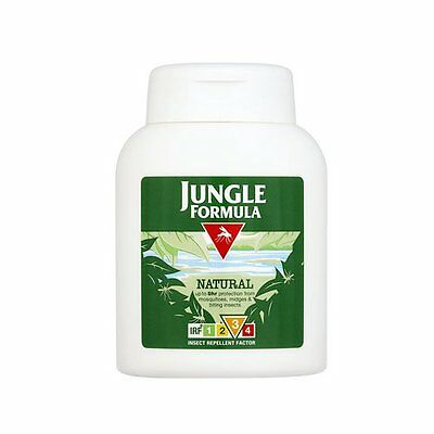 Jungle Formula Natural Lotion 125Ml Up To Eight Hours Protection