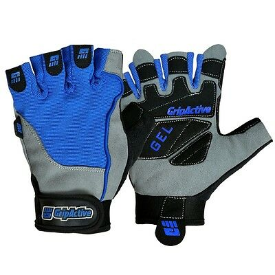 Grip Active Fitness Gym Gloves For Weight Lifting Body Building Workout Training