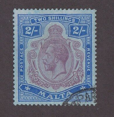Kingscrossing - Malta Stamp #60 Used  VVF 4 margins clear, CV $50