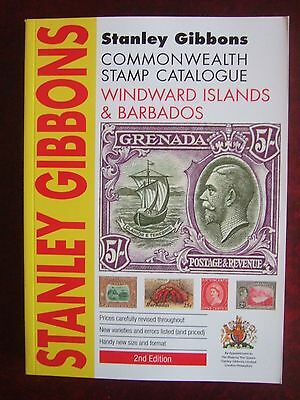 STANLEY GIBBONS WINDWARD ISLANDS & BARBADOS STAMP CATALOGUE 2012 2nd EDITION NEW