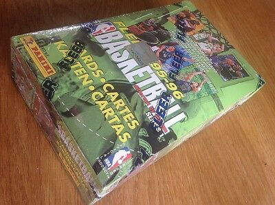 Unopened Sealed Box 48 Packs 1995-6 Fleer Basketball Trading Cards