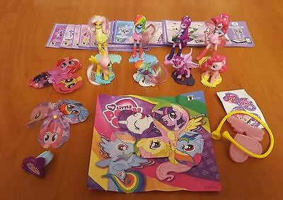 My little pony / Mein kleines Pony set Brasil 2017, kinder ferrero