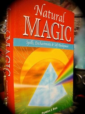 NATURAL MAGIC: SPELLS, ENCHANTMENTS ~ 1ST US EDN HC w/ D/J 2002 ~ OCCULT * WICCA