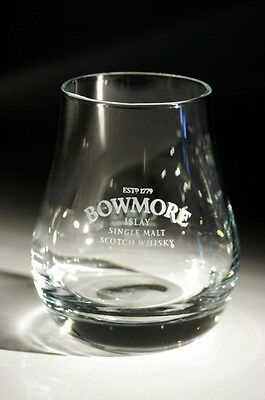 Bowmore Whisky Heavy Glass Tumbler - Rare - Quality - Free Uk Postage