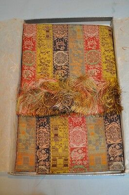 JAPANESE BROCADE TABLE SCARF by TATSUMURA - NEW IN BOX!