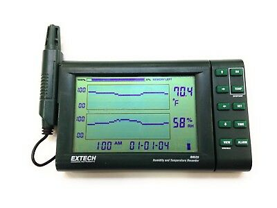 Extech RH520 Humidity/Temperature Chart Recorder Data Logger