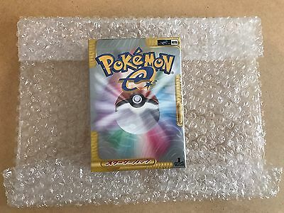 Pokemon First Edition  Brand New Sealed Japanese E-Series 2001 Theme Deck