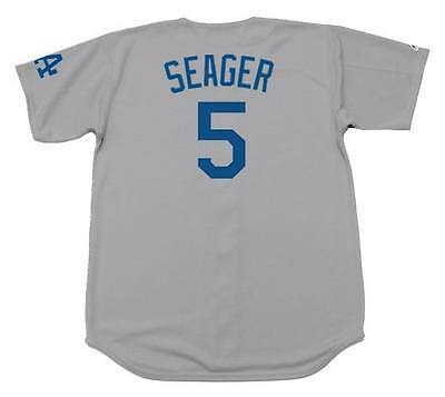 COREY SEAGER Los Angeles Dodgers Majestic Away Baseball Jersey