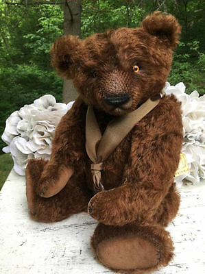 Maria Kolpashchikova * MashaLe * David * One-Of-A-Kind Mohair Teddy Bear