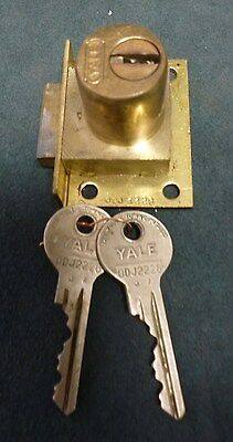Jennings slot machine ODJ original 2 key Yale lock matching numbers