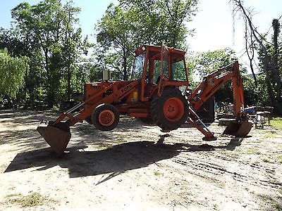 Reduced to sell - Loader Ford Backhoe 655a Extend A Hoe Diesel Compact Tractor