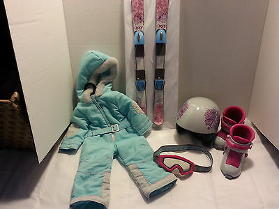 American girl doll retired ski outfit