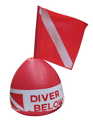 IST SCUBA Diving Surface Marker Buoy With Flag