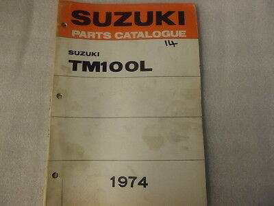 Suzuki Tm100L  Parts Catalogue  1974   14