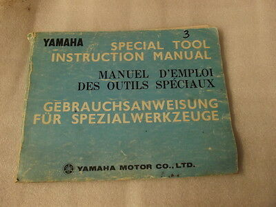 Yamaha Special Tool Instruction Manual   3