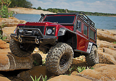 Traxxas TRX-4 Land Rover Crawler 1/10 2.4 GHz (link-fähig) Without Battery,