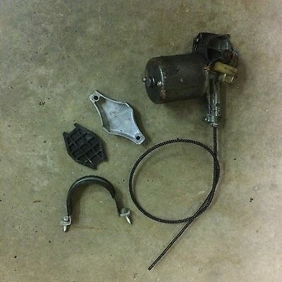 Mg Mgb Wiper Motor With Cable And Bracket