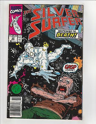 Silver Surfer (1987) #43 VF 8.0 Marvel Comics