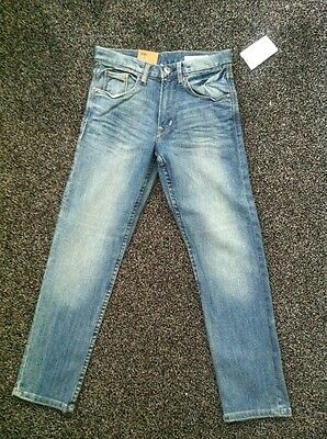 BNWTS Boys H&M Jeans Slim 8-9 Years Old Denim Trousers Fashion