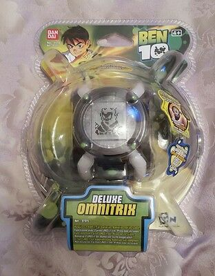 Ben 10 Deluxe Omnitrix Bandai boys unopened Wrist Electronic Rare New & Sealed!!
