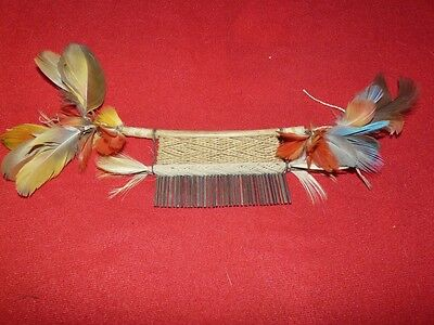Waiwai Brazil Amazon Indian Comb
