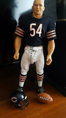 Chicago Bear Billy Gay Doll Football
