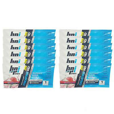 BPI Creatine HD Red Snow Cone 12 Servings (12 x One Serving Packet)