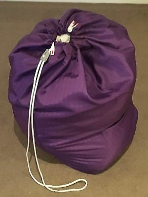 Heavy duty rip stop Laundry Bag - purple great for washing, toys, clothes, beddi