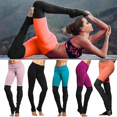 Women Sports Fitness Leggings Gym Yoga Running Pants Jumpsuit Athletic Trousers