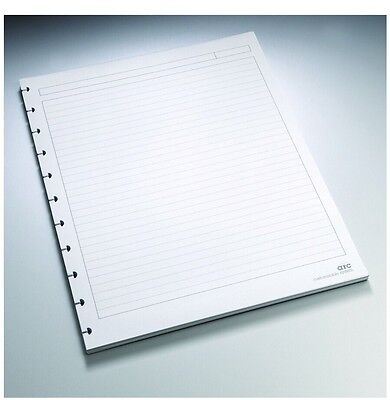 "Staples Arc Notebook Filler Paper, Letter-size, Narrow-Ruled, White, 8 1/2"" x"