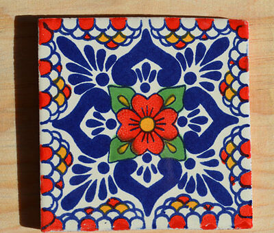 45 Mexican tiles hand painted.