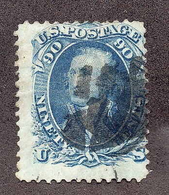 Sc# 72 Used/ light crease/repaired tear?  Lot 0216107