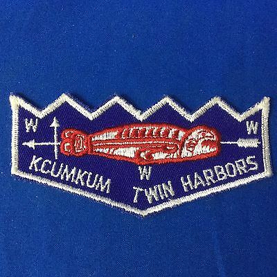 Boy Scout Lodge 285 Kucum Twin Harbors F2 Pocket Flap  Order Of The Arrow Patch