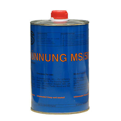 ➔ Thinner, Thinner, 1 Liter MS/50 C, for cleaning & Diluted Wood PuTTY
