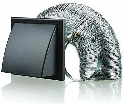 Blauberg UK BB-CHK-150-3-VKBL 150 Mm Cooker Hood Duct Cowled Vent Fan Extractor