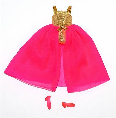 Vintage Topper Dawn Doll HTF Split Front European Version Bewitched Gown! Lot 38