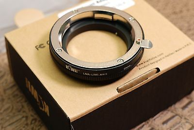 Leica M Mount Lens to M 4/3 Body adapter - Micro Four Thirds Panasonic & Olympus