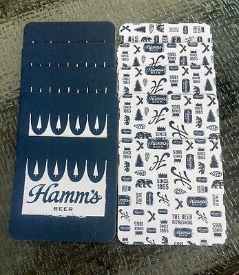 """Hamm's Beer Coasters Lot Of """"10"""" Free Shipping 🌴🌴"""