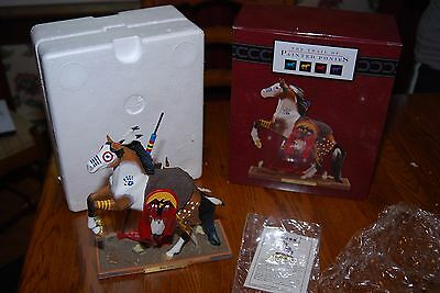 The Trail of Painted Ponies 'War Cry' Horse Figurine NIB