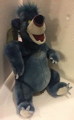 "Jungle Book 2 ""BALOO"" 12"" DISNEY STORE EXCLUSIVE stuffed plush toy with tags"