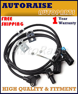 2× Front Left & Right ABS Wheel Speed Sensor kit OE 15991986 For Chevy GMC