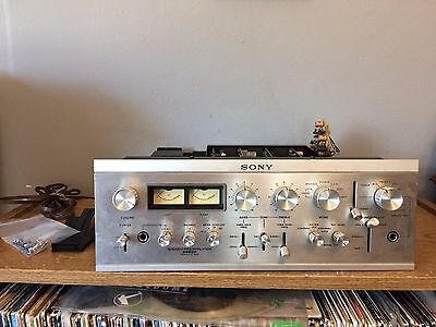 Vintage Sony TA-2000F Preamplifier for Parts or Repair
