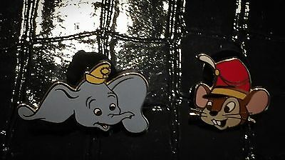 LE 50 Dumbo Timothy Mouse Head DLR Anniversary Frame Map Disney Auction Gold Pin