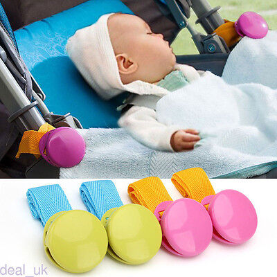 Stroller Accessory Baby Blanket Clip Adjustable 2 Pcs Set Pram Blanket Clip