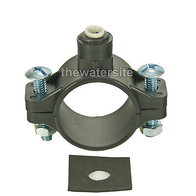 Drain Saddle Clamp For RO Reverse Osmosis Water Filter Or Water Cooler drain