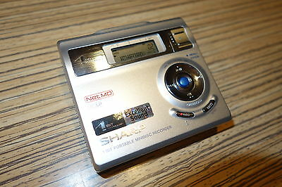 Sharp Minidisc RD 410 H   MD   Recorder / Player (94) Silber MD LP